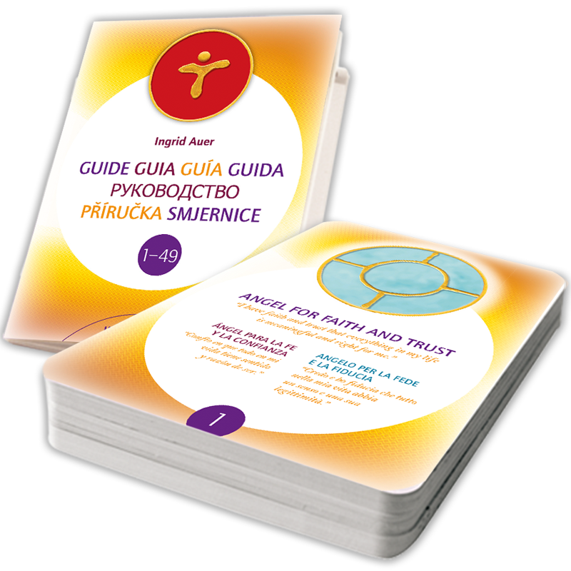 Energized Cards Energized Angel Symbols 1-49 (trilingual ES/ES/IT) with Info-Booklet (English)