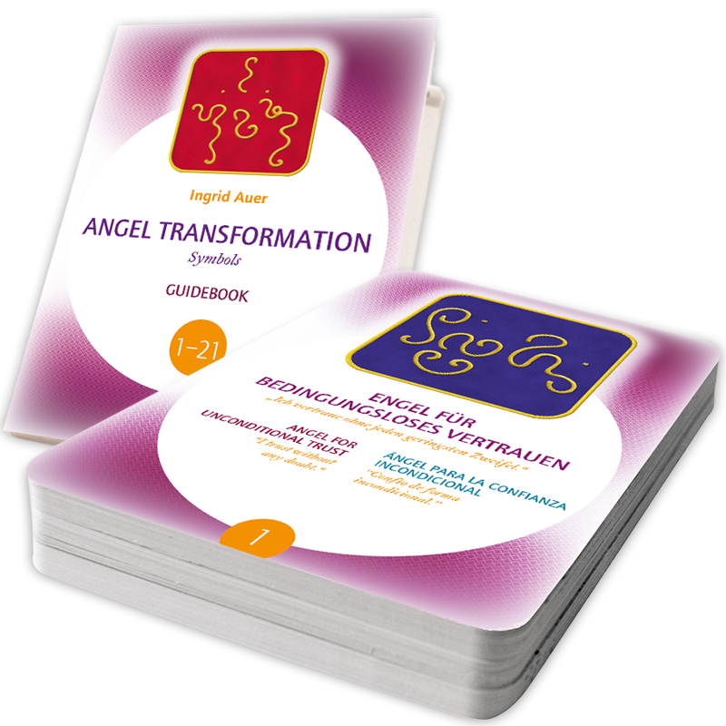 Energized Cards Transformation Symbols (trilingual GE/EN/ES) with Guidebook (English)