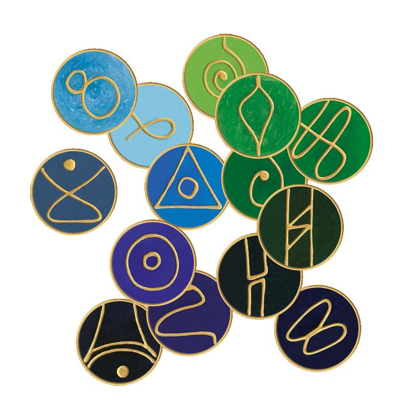 Angel Combi Symbols No. 27 Sariel