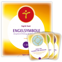 Book with Cards Engelsymbole 1 - 49 (German)