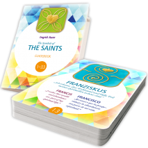 Energized Card Set The Symbols of the Saints  with Guidebook (English)