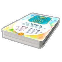 Energized cards Símbolos de los Santos (trilingual GE/EN/ES)
