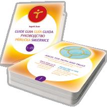Energized Cards Símbolos Angelicos Energizados (trilingual PT/ES/FR) with Info-Booklet (Portuguese)