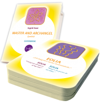 Energized Cards Master and Archangel Symbols (GE/EN/ES) with Guidebook (English)