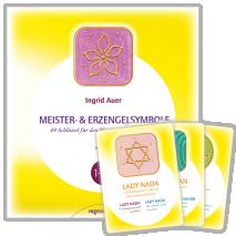 Book with Cards Die Symbole der Meister und Erzengel (German)