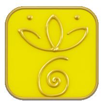 Symbol Patron Saint Ottilie