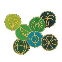 Angel Combi Symbols No. 77 Iridiel